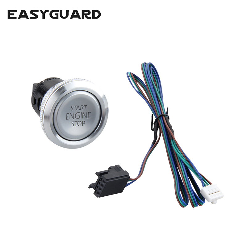 EASYGUARD Replacement Push Engine Start Stop Button For Ec002 Es002 Ec008 Series P3 Style