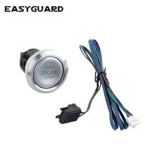 EASYGUARD Replacement push engine start stop button for ec002 es002 ec008 series P3 style
