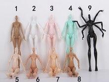 DIY Имитация Демон Монстр Куклы Нагое Тело Без Головы Для Monster High Куклы DIY Сказки Вращающимся Суставы Куклы Органов