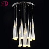 Free Shipping Modern Acrylic Pendant Light For Dining Room Luxury Light Fixtures For Restaurants Living Room