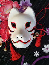 Полный ручная роспись наруто хатаке какаши анбу японский стиль штукатурка kitsune косплей fox маски партии хэллоуин