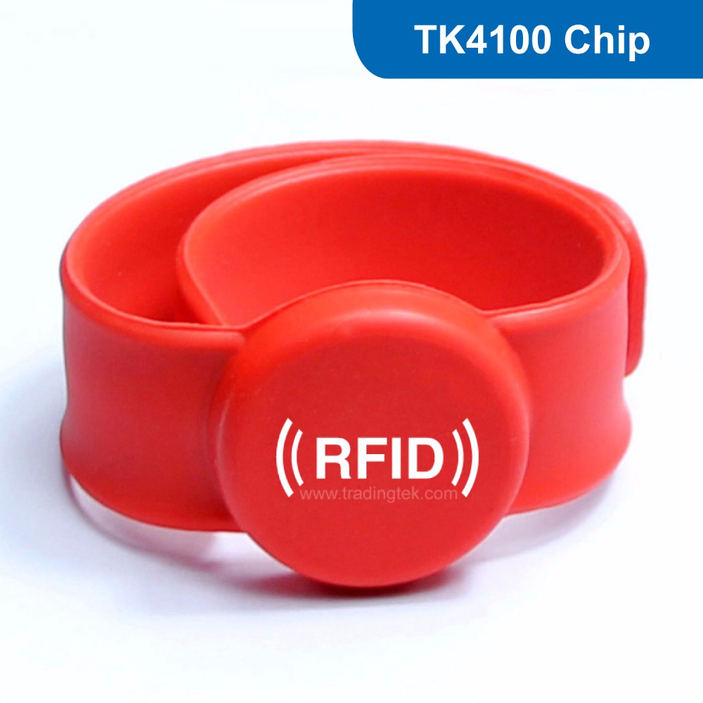 WB07 Silicone RFID Wristband RFID Bracelet for access control 125KHZ 64BITS R/O TK with TK4100 Chip Free Shipping wb01 hot sales silicone rfid wristband for access control nfc bracelet iso14443a 13 56mhz with m1 s50 chip free shipping