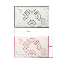 60*40cm  Non Stick Silicone Baking Mat Kneading Dough Mat Baking Rolling pastry Mat Bakeware Liners Pads Cooking Tools