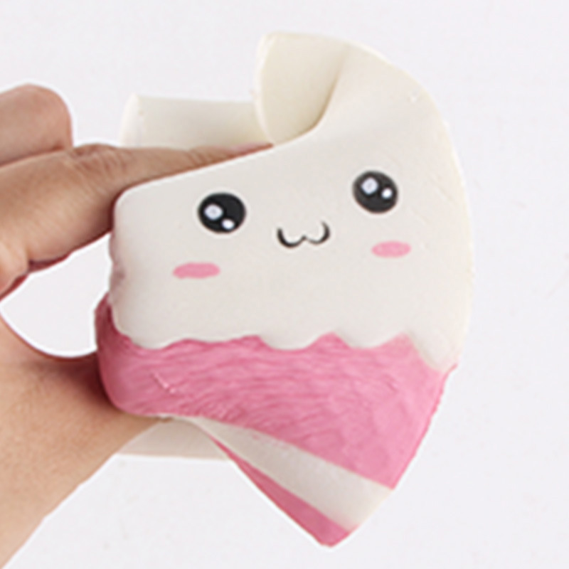 Cute funny stress soft milk box squishy hand squeeze carton slow rising the antistress toy kids ...