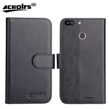 Fly Power Plus 2 FS526 Case 2017 6 Colors Dedicated Flip Leather Exclusive 100% Special Phone Cover Cases Card Wallet+Tracking смартфон fly fs526 power plus 2 black