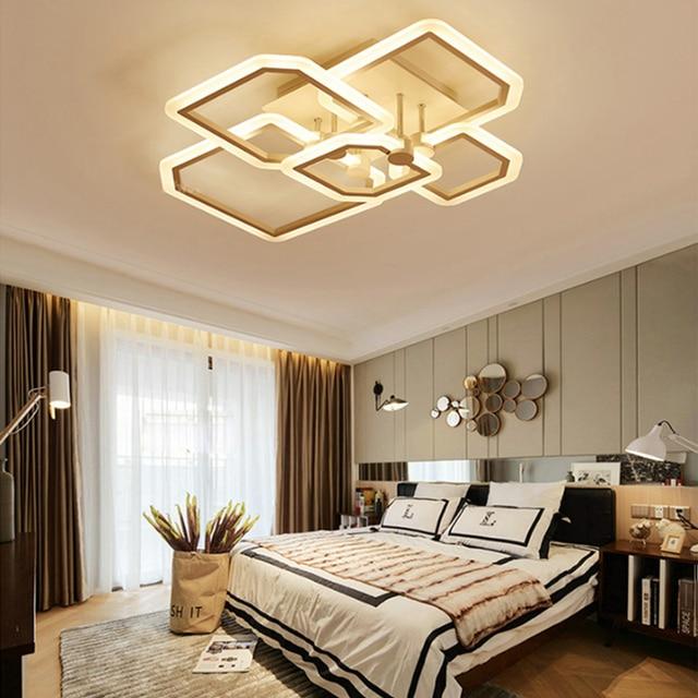Neue Ankunft Schwarz/weiß Led Deckenleuchter Für Wohnzimmer