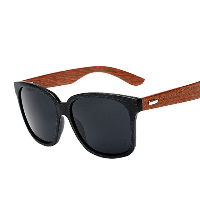 El new de los hombres gafas de sol de la cara grande negro gafas de sol de conducción espejo gafas vintage pata de palo, gafas de sol de alta calidad