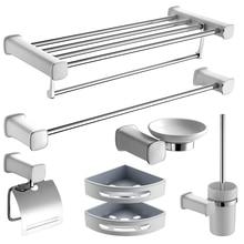 Аксессуары для ванной комнаты Набор одежды крючки вешалки для полотенец Туалет чашки бумага стойки крепление для зубной щетки/чашки для ванной полки кулон