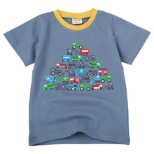 2019 Children's short-sleeved T-shirts for children in summer and half-sleeves for small and medium-sized boys in cotton e commerce adoption factors in small and medium sized enterprises