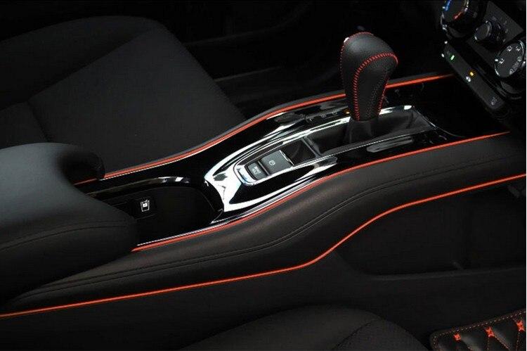 5m Diy Car Interior Decoration Moulding Trim Strips Accessories