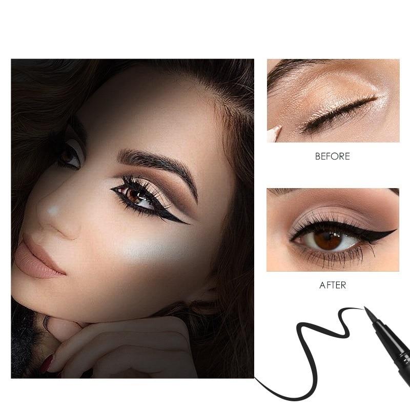Beauty Glazed New Black Liquid Eyeliner Pencil Waterproof Long Lasting Eye  Liner Pencil Smooth Makeup Fast Dry Eyeliner Pencil|Eyeliner| - AliExpress