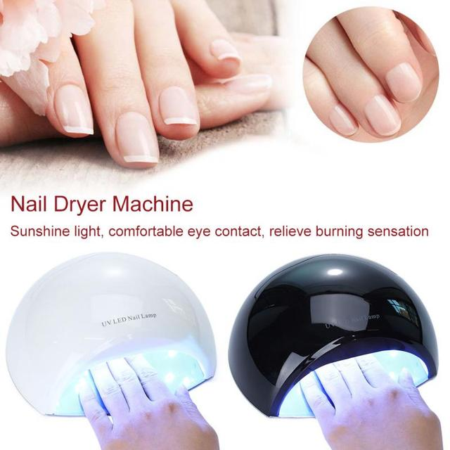 36w Uv Light Nail Dryer Cordless And Rechargeable Led Lamp Gel Polish Drying
