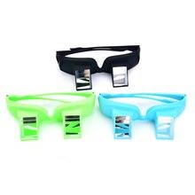 60120da4a1 Diseño Creativo Lazy Periscope Horizontal lectura TV Sit ver gafas en cama  Acuéstese Bed Prism gafas