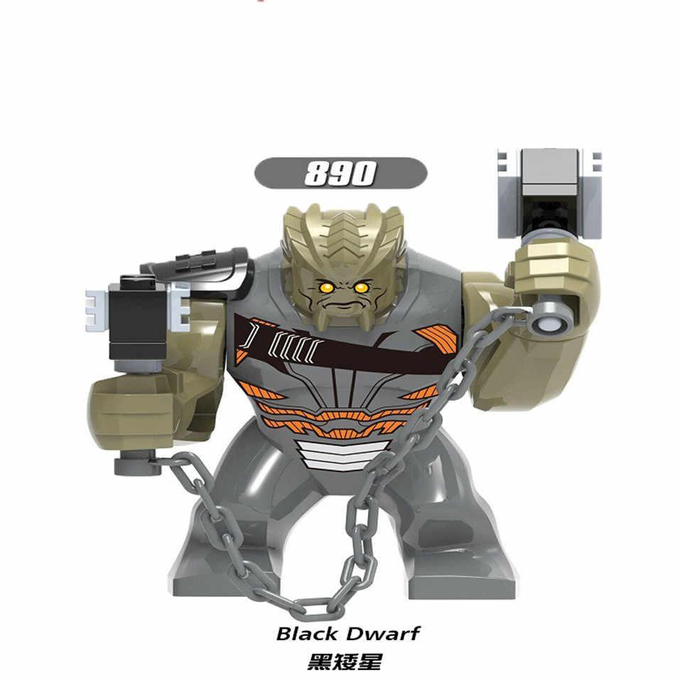 Супер Герои танос черный карлик Набор фигурок танос перчатка бесконечности строительные блоки Конструкторы набор игрушек для детей