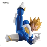 WSTXBD Original Dragon Ball Z Sculture 5 Vegeta PVC Figure Toys Figurals Dolls Brinquedos
