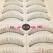 10 Pairs Makeup Handmade Natural False Eyelashes