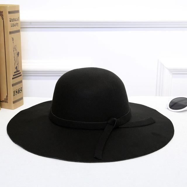 Classic Retro Jazz Warm Fedora Bucket Cotton Sweet Caps