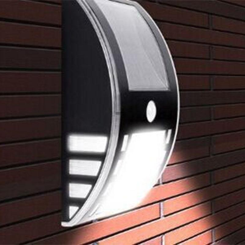 Aliexpress Com Buy 3 Led Solar Motion Sensor Outdoor Light Lamp Waterproof Security Night Detector Lighting System For Gutter Fence Yard Sidewalk From