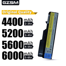 HSW 5200MAH NEW 6cells Laptop Batteries for lenovo G460 BATTERY G470 Z460 Z470 G560 V360 Z560 V560 E47 Z370 Z465 B570 B575 V470
