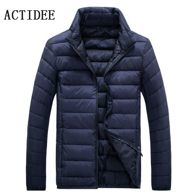 2016 moda homens gola casaco de inverno jaqueta de pato para baixo homens parkas homens jaqueta de inverno dos homens plus size 3XL 4XL