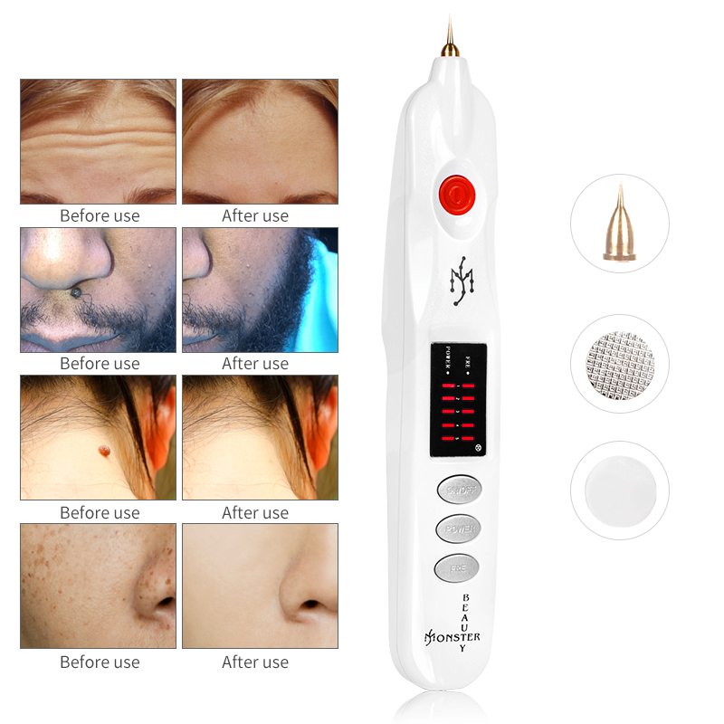 Micro Plexr Plasma Pen Eyelid Lift Freckles Acne Skin Tag Dark Spot Remover for Face Tattoo