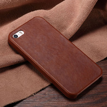 WITH LOGO Luxury 5s PU Leather Case Hard Back Cover Case for iPhone 5 5s SE Leather Phone Cases Bags