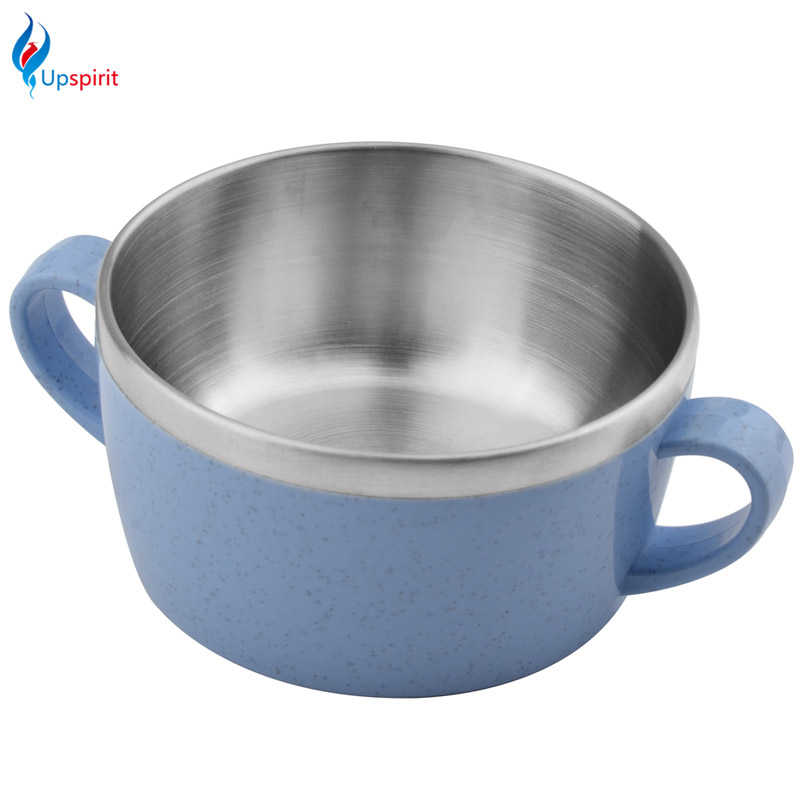 2017 stainless steel double bowls plastic surface for rice for Surface container
