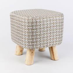 Моющиеся бытовой диван табурет деревянный менять обувь скамьи стабильной Нескользящие твердой древесины детский стул многоцелевой ткань