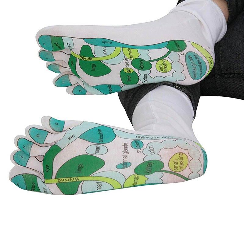 Reflexology Socks Single Toe Design Far East Healing Principles Sock IK88