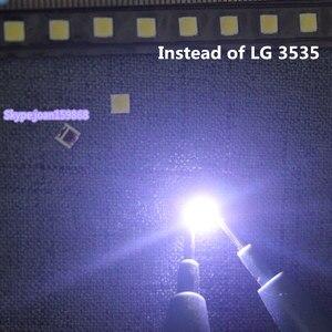Image 2 - 200PCS/lot  100%NEW FOR SMD LED 3535  6V 2w REPARACION LIGHTING FONDO TV LG INNOTEK. BACKLIGHT Send substitution LG3535 6V