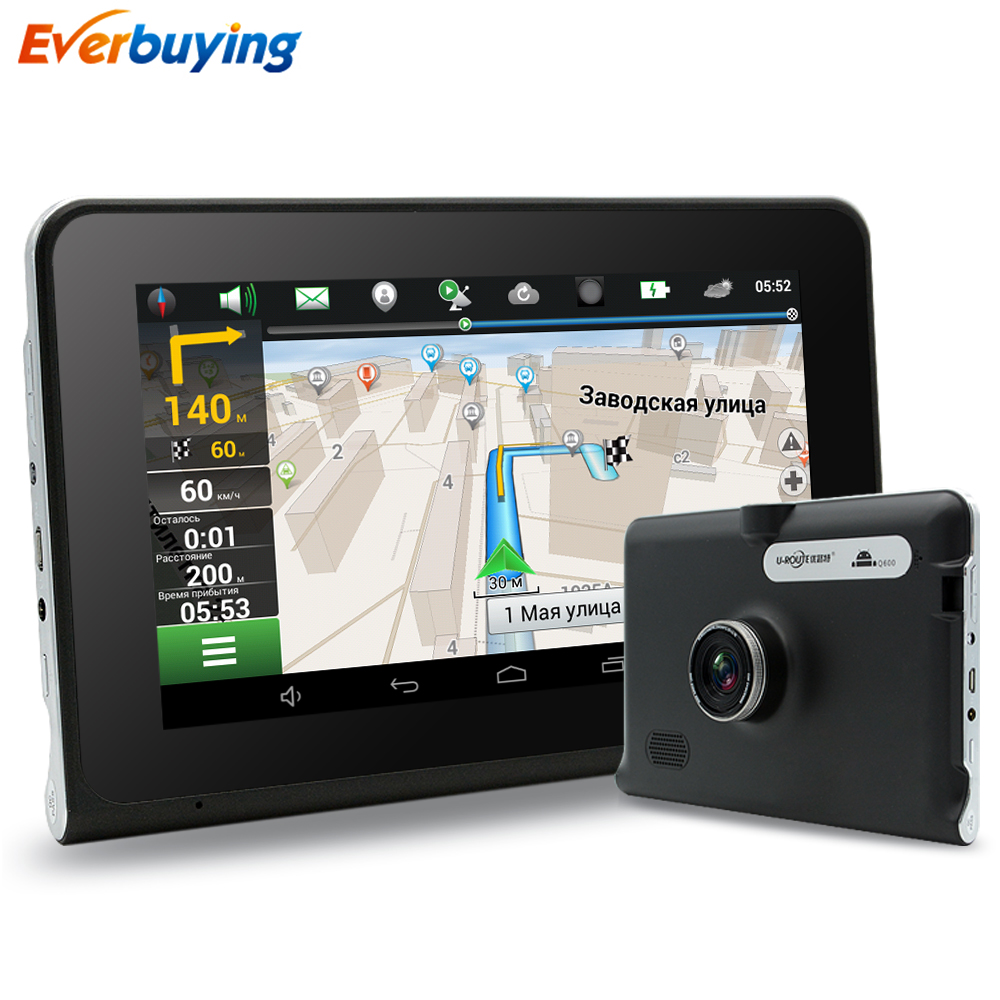 7 inch Android 4 4 Car Truck font b GPS b font Navigation with DVR Camera