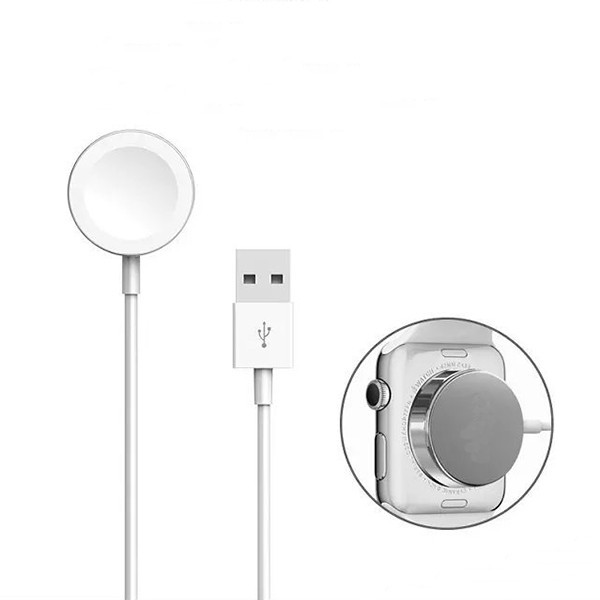 100% Original Watch Wireless Charging Magnetic Force Wireless USB Cable Charger Line Cable For Apple Watch For i Watch Wire зарядное устройство для apple watch apple watch magnetic charging cable 0 3m mlla2zm a