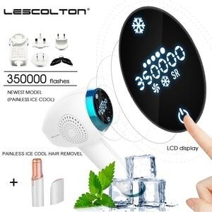 Image 5 - Lescolton 4in1 Epilator For Women Laser Hair Removal Machine Laser Epilator Hair Removal Permanent Electric depilador a laser