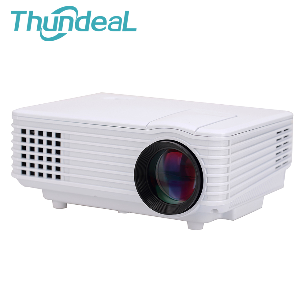 ThundeaL 800 Lumens Mini Projector RD802 Updated RD805 LED LCD Portable Beamer Cinema Home Theater Proyector VGA TV USB HDMI AV mini digital smart led projector home cinema theater korean projection machine hdmi vga usb port beamer proyector