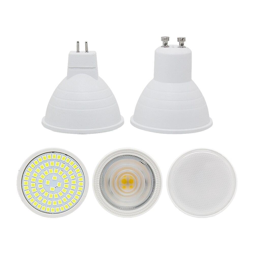 Lights & Lighting Led Bulb Spotlight Gu10 Gu5.3 3w 5w 7w Ac220v Mr16 Dc12v Smd Chip Beam Angle 120 Spotlight Led Lamp For Downlight Table Lamp