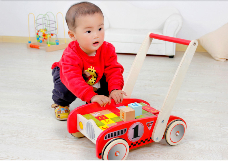 Baby Toddlers Sit To Stand Learning Walker 2 In 1 Use As
