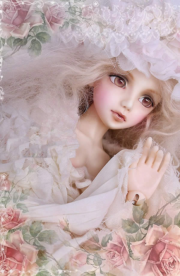 New BJD doll 1 4 Katie girl joint doll doll give eyes