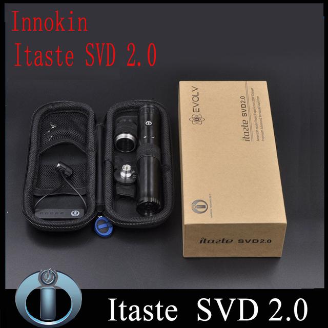 100% auténtico Innokin Itaste SVD 2.0 nueva SVD Mod 18650 Original Innokin Mods mecánica Innokin Itaste SVD cigarrillo electrónico