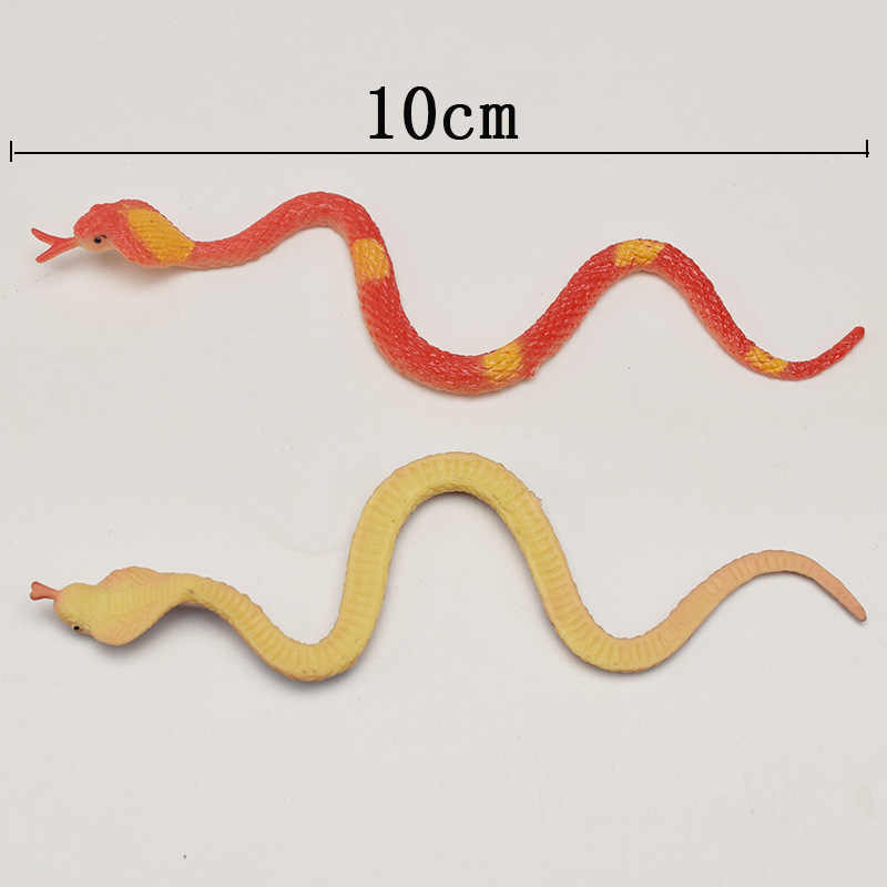 12X High Simulation Toy Plastic Snake Model Funny Scary Snake Kids Prank Toys SE