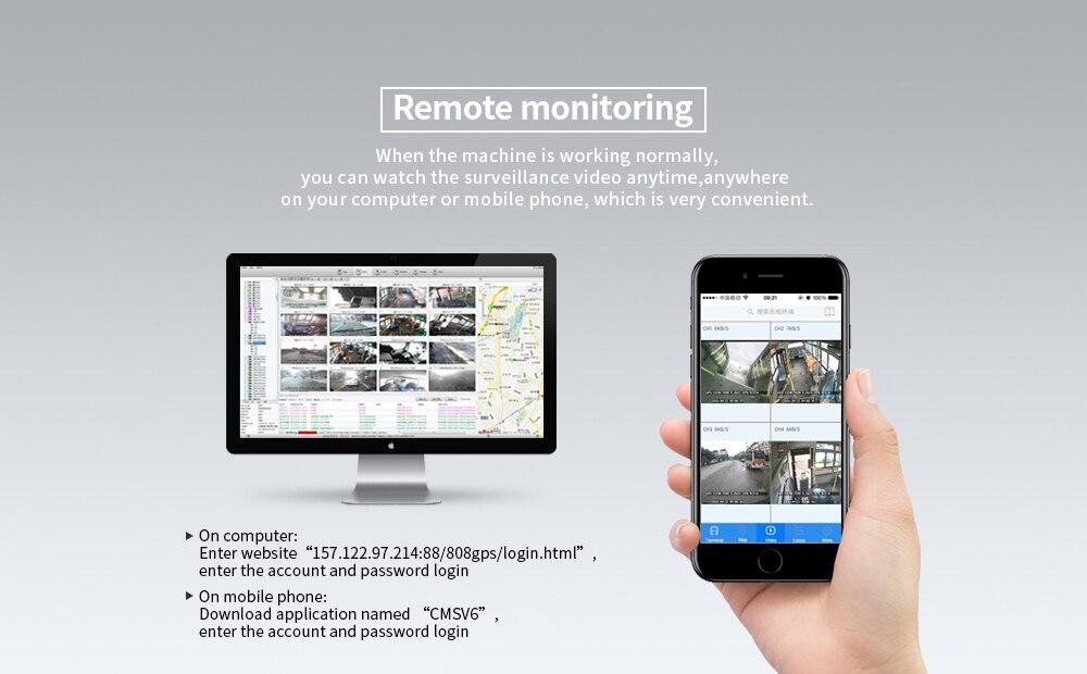 3G GPS funksiyası dəstəyi ilə 4CH D1 HDD Avtomobil Mobil Dvr, - Avtomobil elektronikası - Fotoqrafiya 4