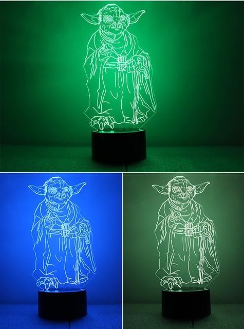 Ночник Мастер Йода Звездные Воины
