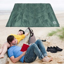 HW2016 NEW arrival  New 180*112*2.9cm Blow Up Full Air Bed Outdoor Camping 2 Person Pad Inflatable Mattress