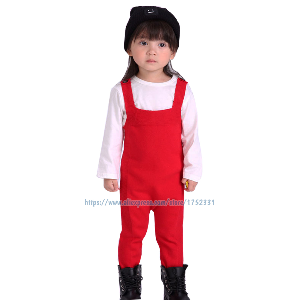 QUIKGROW-Premium-Baby-Overalls-Knitted-Nice-Candy-Colors-Yellow-Grey-Red-Infant-Girls-Trousers-Boys-Long-Pants-YM07KZ-4