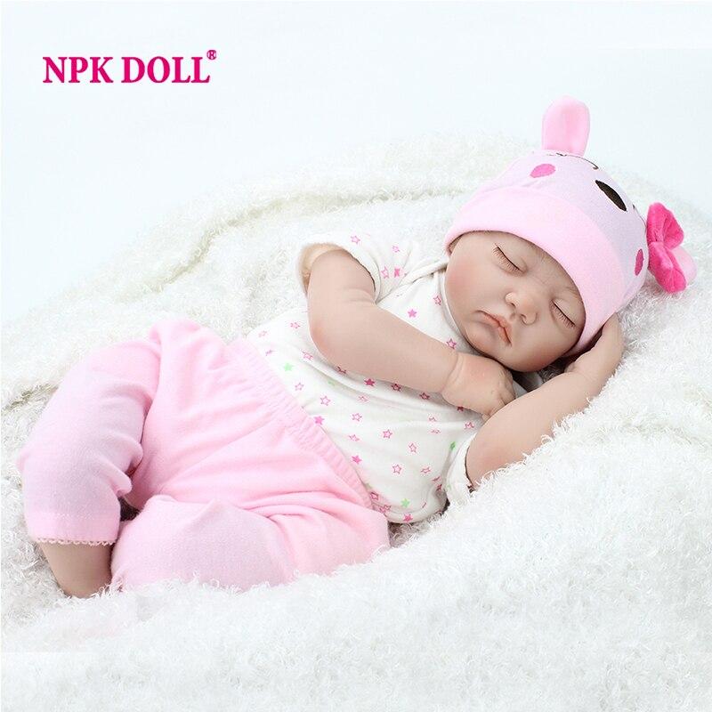 Npkdoll 22 Inch Reborn Baby Doll Lifelike Sleeping