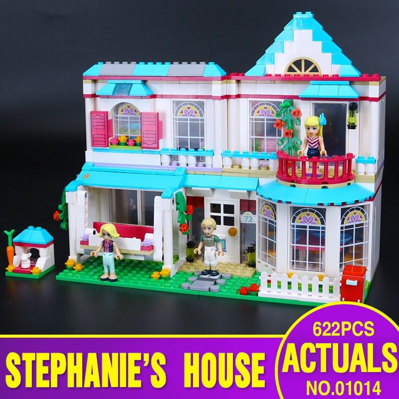 ФОТО Lepin 01014 622Pcs New Genuine Good Girls Series The Stephanie's House Set Building Blocks Bricks Educational Toys 41314