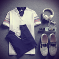 M-XXL Старинные печати футболки фитнес одежды Хлопок повседневная Коротким рукавом Тройники футболка V Шеи Мужчины Топы MQ253
