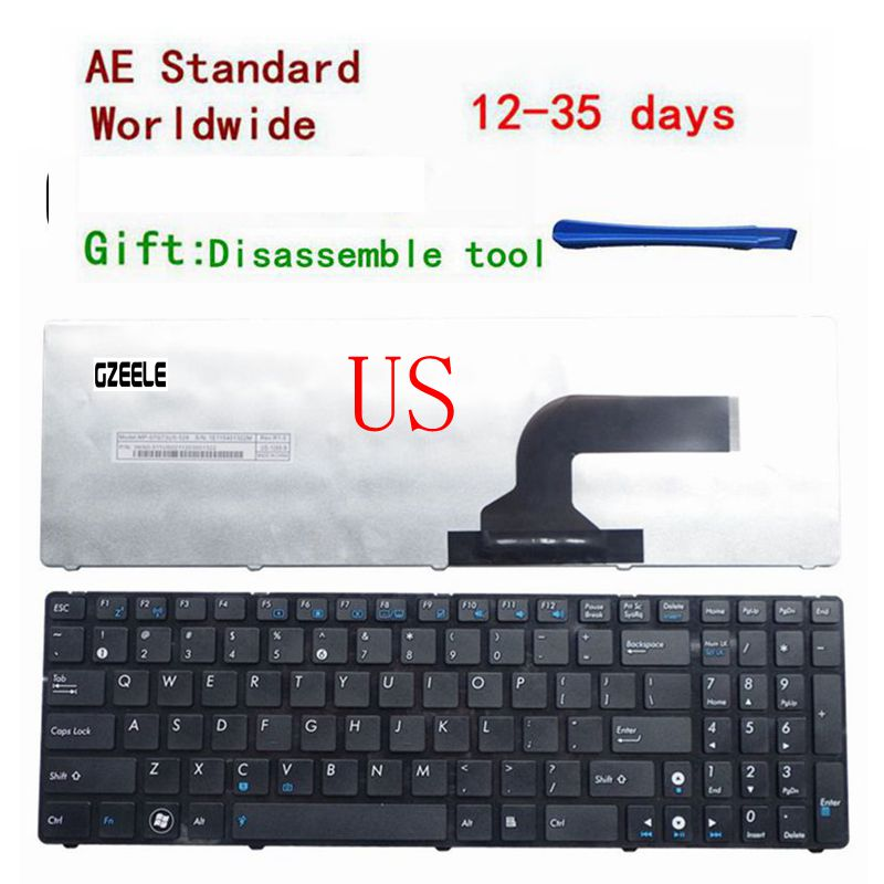 New US Keyboard For ASUS K53 K53E X52 X52F X52J X52JR X55 X55A X55C X55U K73 K73B K73E K73S X61 NJ2 Laptop