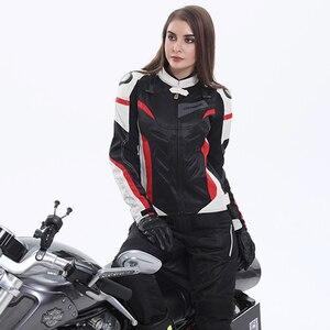 Image 5 - BENKIA chaquetas para motocicleta para mujer, chaqueta de Motocross, equipo de protección, carreras, transpirable, a prueba de viento, para primavera y verano