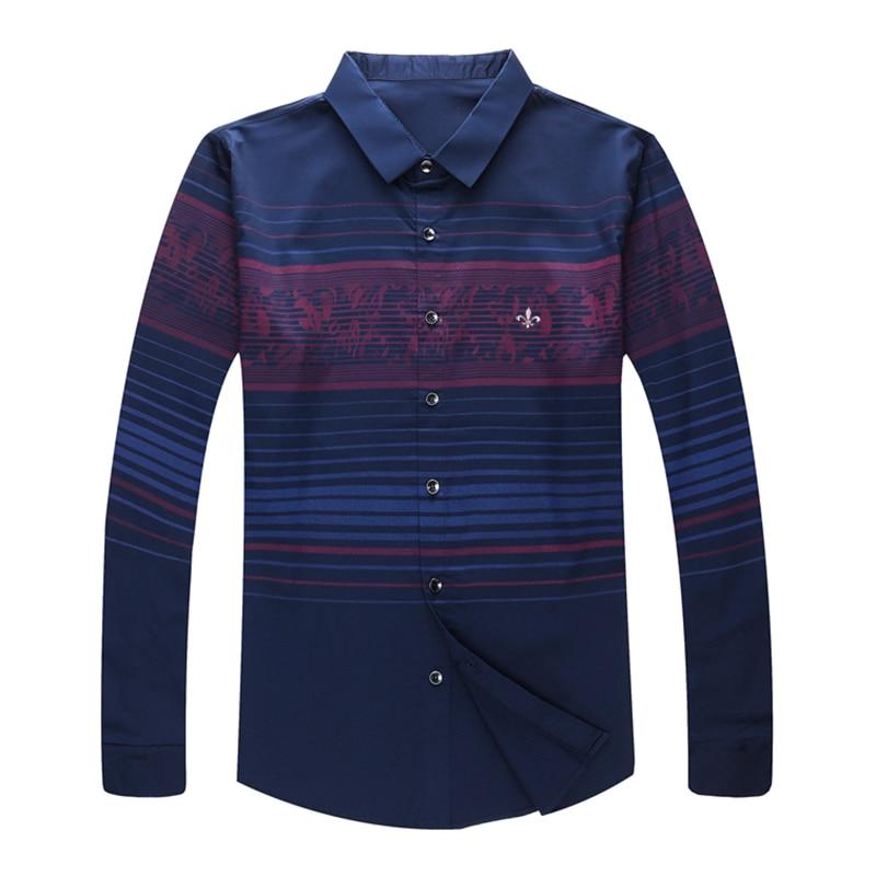 Image 5 - DUDALINA Me Shirt 2020 Camisa Casual Long Sleeve Shirt Men Soft Slim Fit Brand Men Clothes ShirtCasual Shirts   -