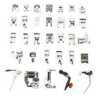 32 PCS Multifunctional Household Sewing Machine Presser Feet Set Presser Foot for Sewing Machine Accessories Sewing Tools Gadget